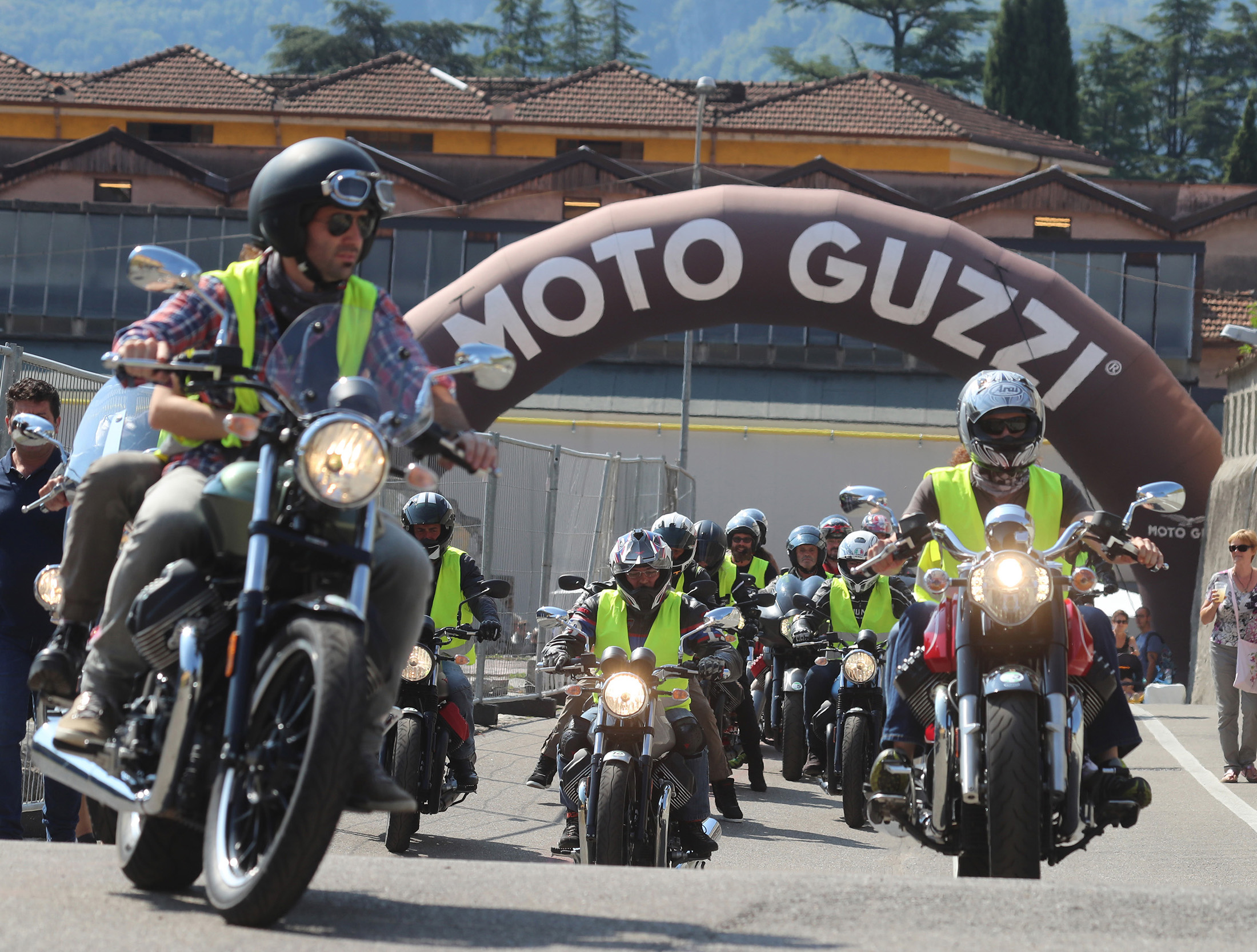 01 Moto Guzzi Open House 2018 Test Ride